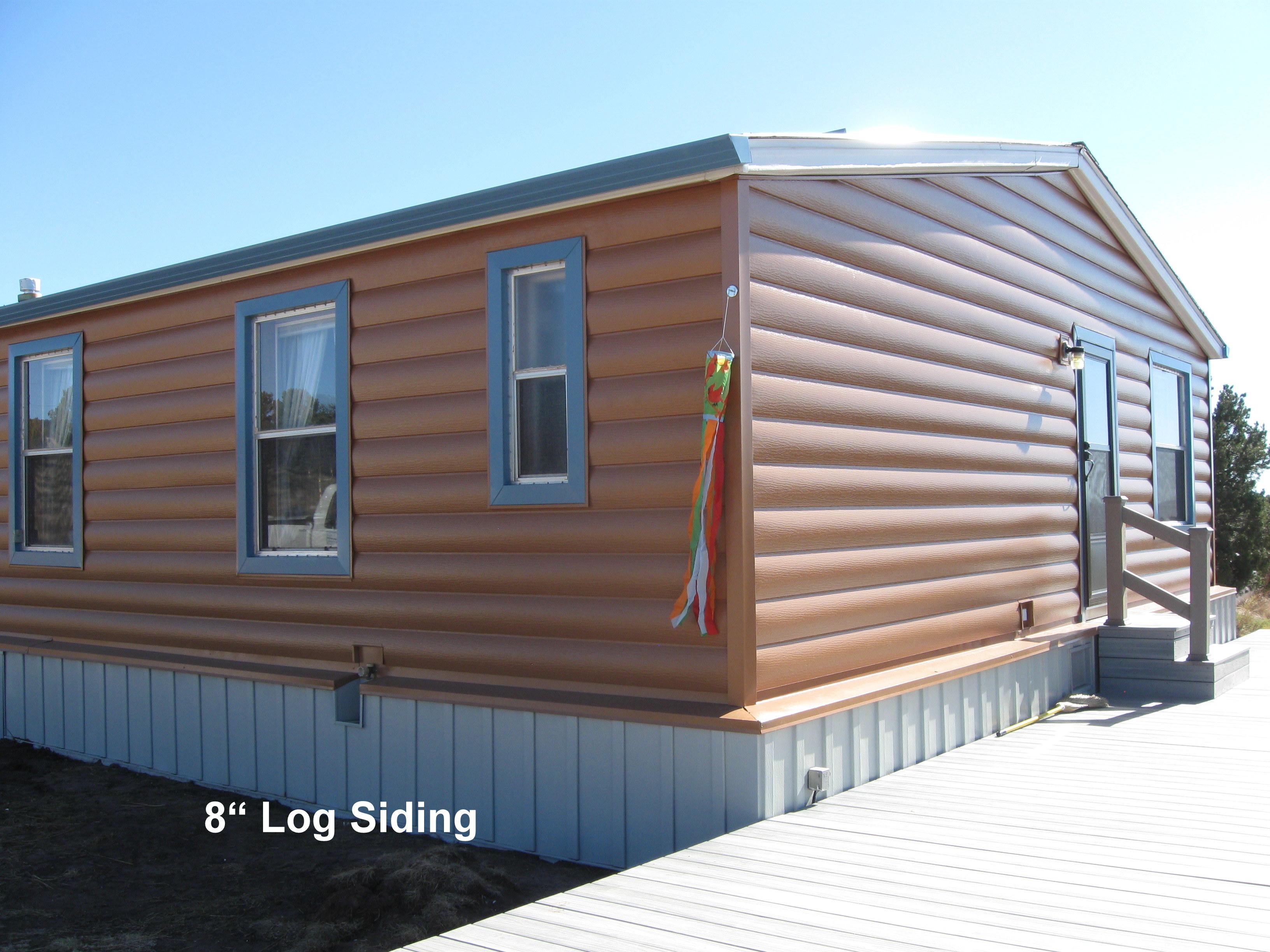 Mobile Homes With Log Siding